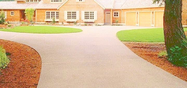 Exposed Concrete Driveway-2